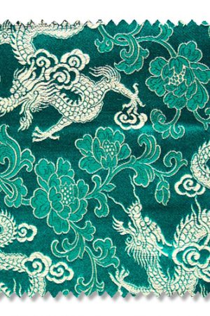 Mr Chinese Dragon fabric sample