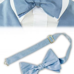 Silk Bow Tie (ready-tied)