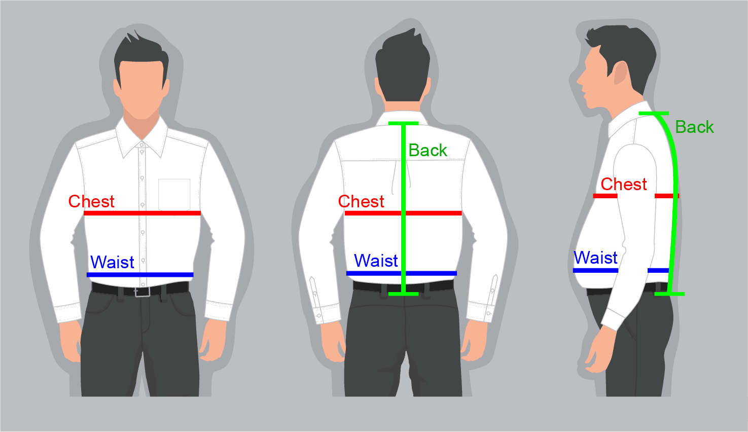 How to measure yourself for a waistcoat.
