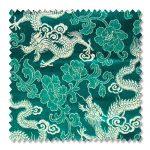 Mr Chinese Dragon fabric sample